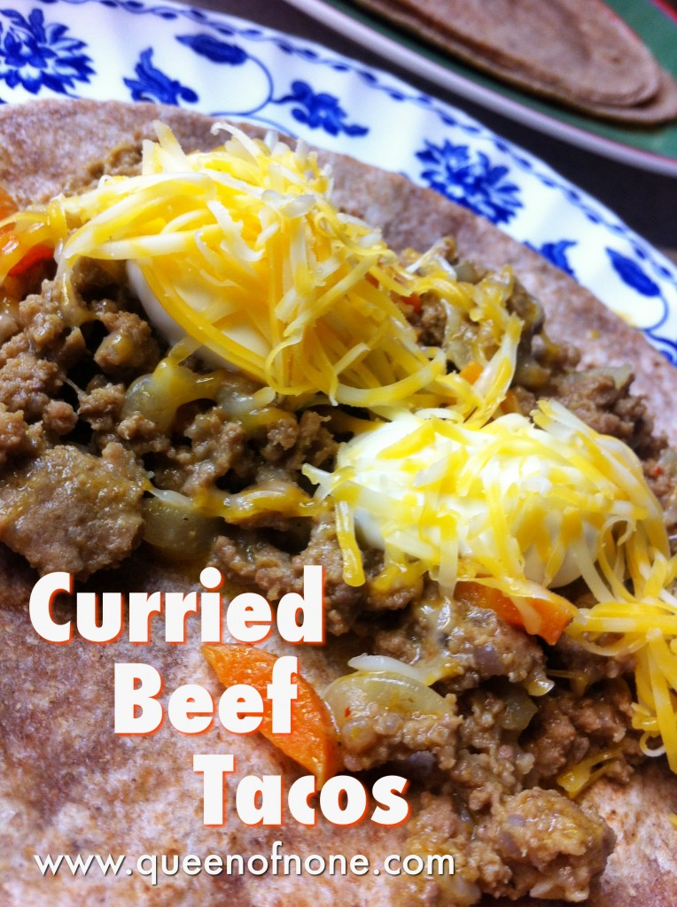 Curried Beef Tacos